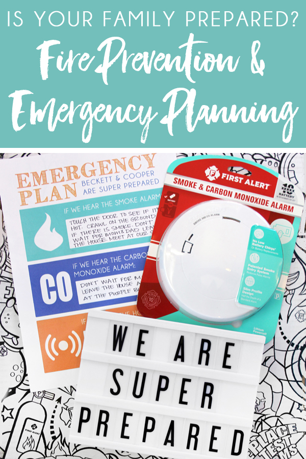 Fire Prevention Tips and Family Fire Safety Plan