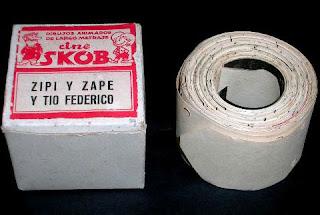 Pellícula de Cine Skop Escobar Zipi y Zape y Tio Federico