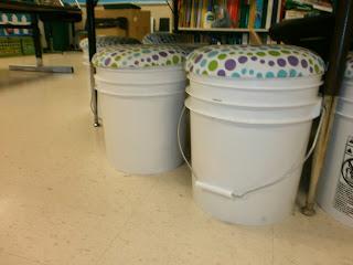 Your Teacher S Aide Diy Bucket Seats With Storage