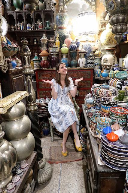 medina Marrakech a golpe de objetivo