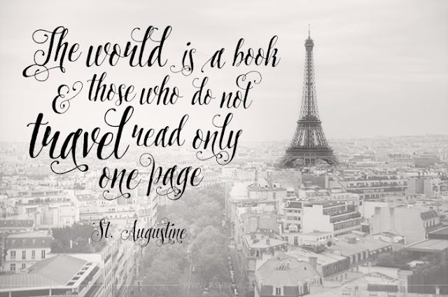 Saint Augustine traveling quote