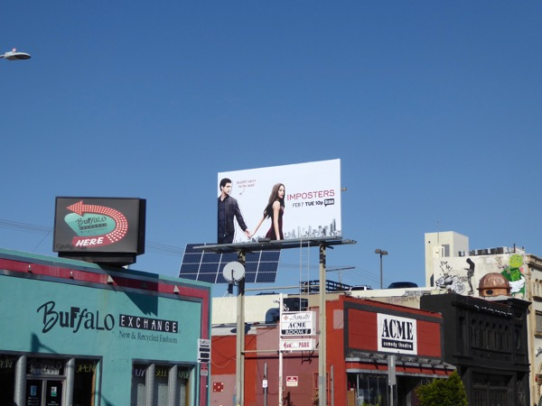 Imposters season 1 billboard