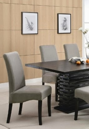 stanton contemporary 7pc black and gray