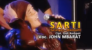 Lirik Lagu SARTI (Sarangan - Maospati) - Didi Kempot