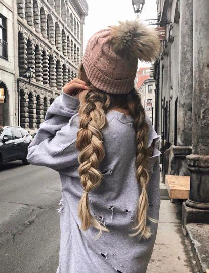 gorgeous winter braids