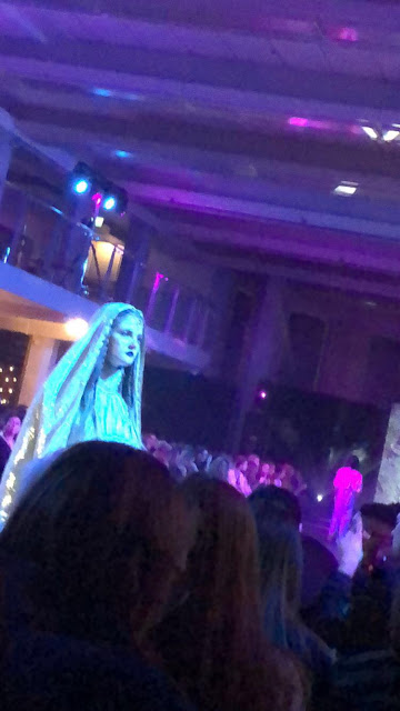 Snapchat photo of one of the looks from PEACE. at LRFS