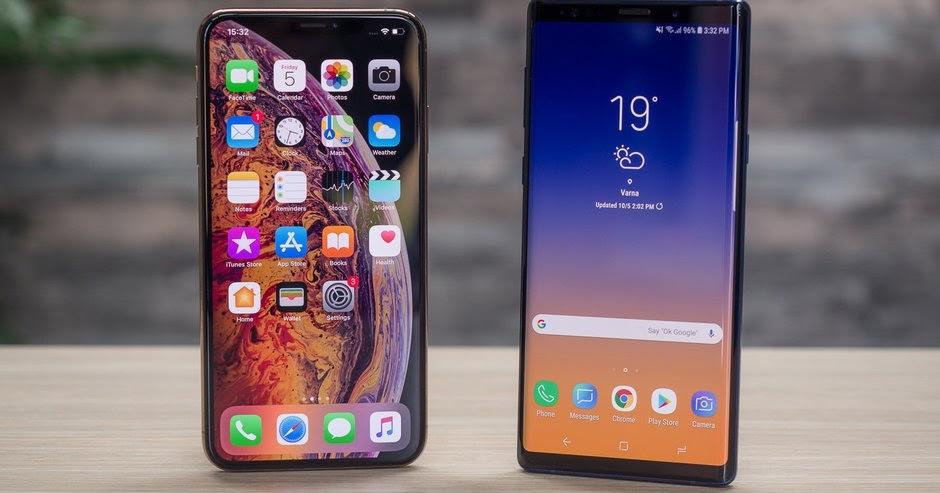 Android vs iPhone - iOS ganha terreno mas Android continua a dominar
