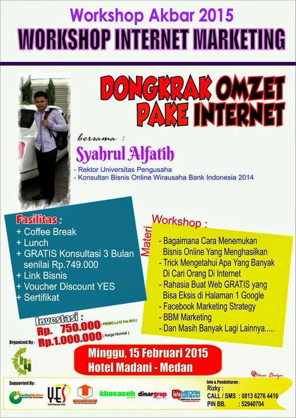 Workshop Internet Marketing 2015