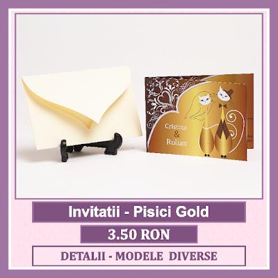 http://www.bebestudio11.com/2018/03/invitatii-nunta-pisici-gold.html