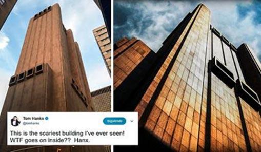 Este extraño edificio de Nueva York