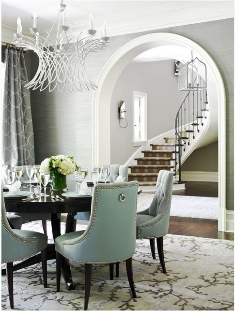 transitional dining rooms | Key Interiors by Shinay: Transitional Dining Room Design Ideas