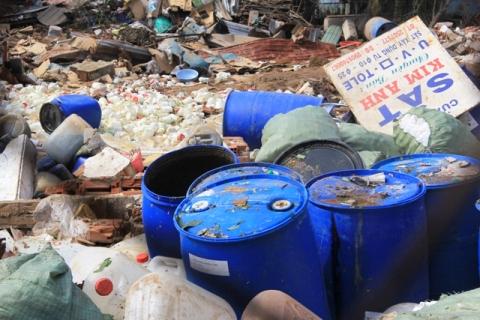Vụ nổ ở chi nhánh công ty Đặng Huỳnh được xác định là do mua hoá chất về sản xuất phân bón
