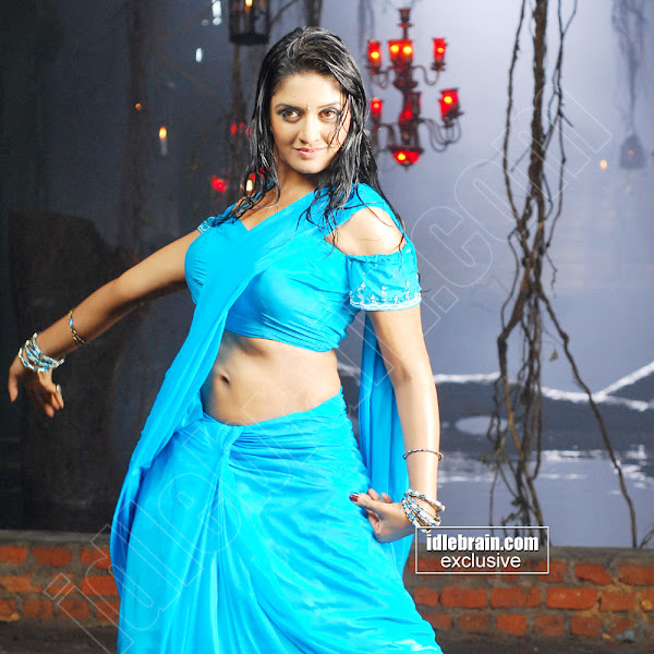 Vimala Raman hot wet navel show photos in saree