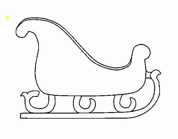 dibujos para colorear de trineos de navidad trato o truco