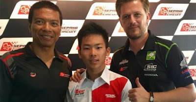 Jebolan ATC Ayumu Sasaski Membalap Gantikan Bastianini di sepang dan Akan Race Moto3 dengan Tim Malaysia di 2017