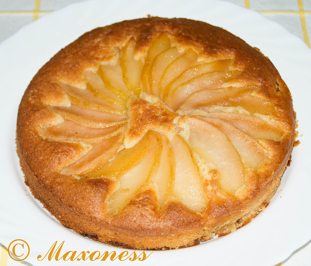 Грушево-медовый кекс с лаймом от Гордона Рамзи