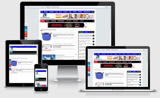 Cara Mudah Mengetahui Template Blog/ Website Responsive