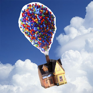 Casa de Up imprimible gratis  Ideas y material gratis para fiestas y celebraciones Oh My Fiesta