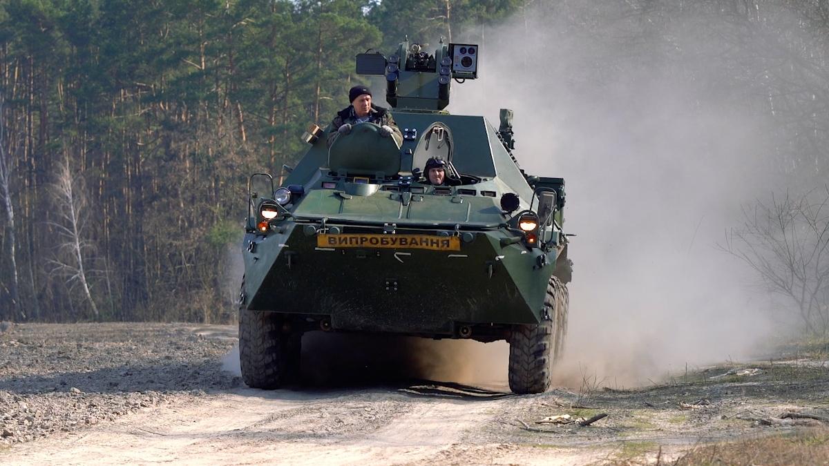 Командно-штабна машина БТР-3КШ зр.2019р.