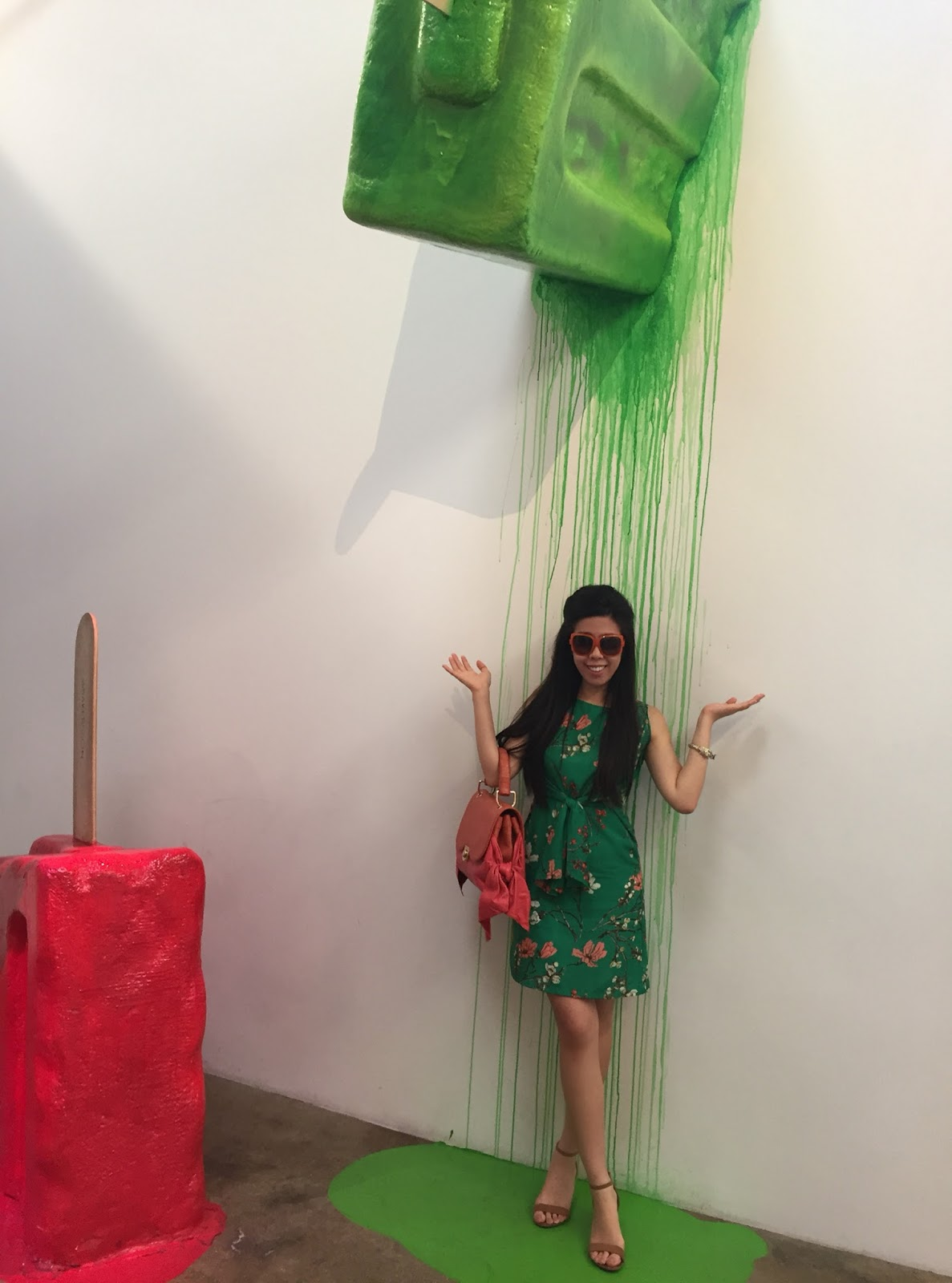 Rainbows at the Museum of Ice Cream in Los Angeles_Adrienne Nguyen_Invictus_Melting Ice Cream