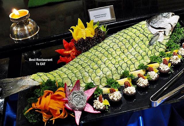 Hotel Istana Kuala Lumpur Christmas Menu - Aromatic Poached Salmon Platter