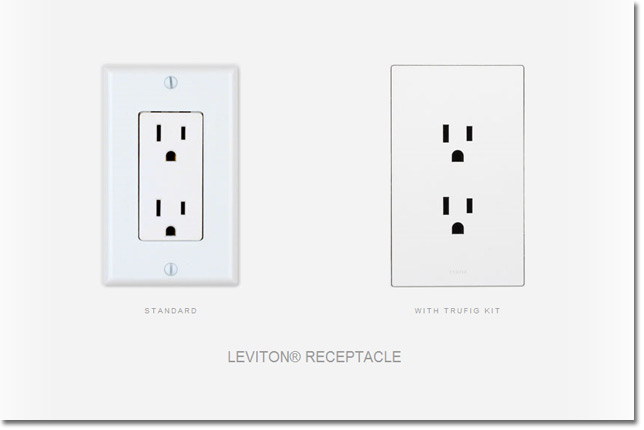 flush mounted electrical outlet