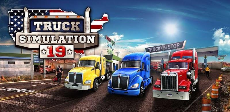 Truck Simulation 19 v1.3 Apk Mod+Data [Versão Full Unlocked]