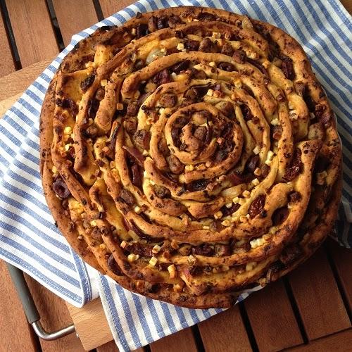 Pinwheel Greek style ~ Gyros-Pinwheel