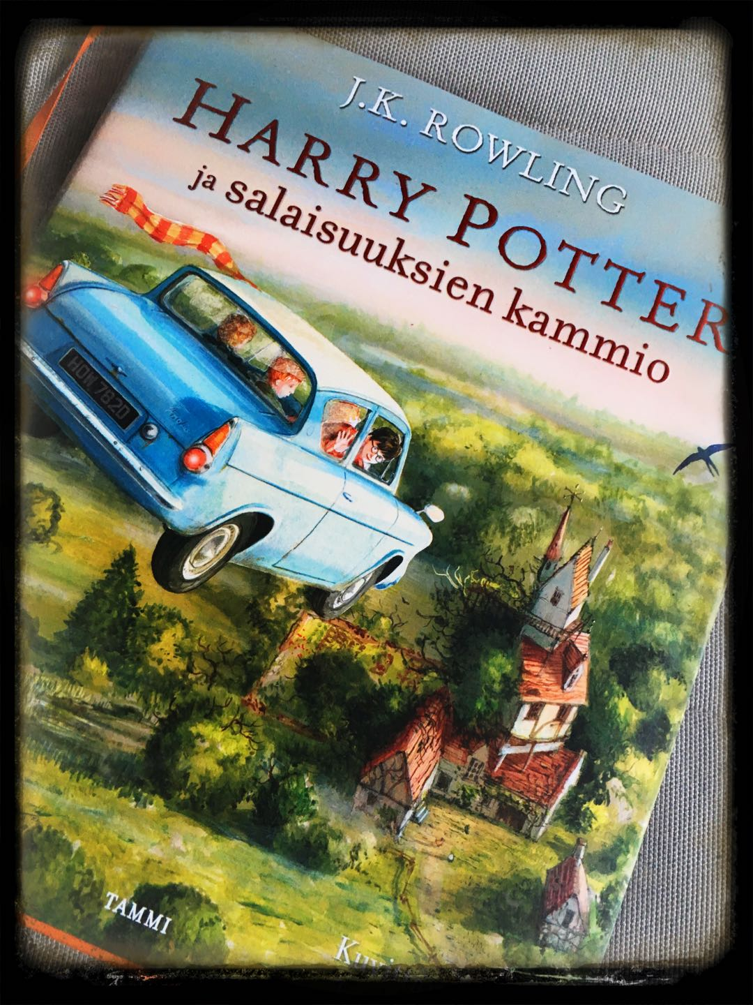 Harry Potter -fanitusta!