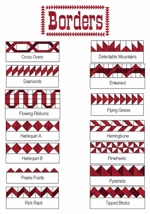 Borders - Free Quilt Patterns