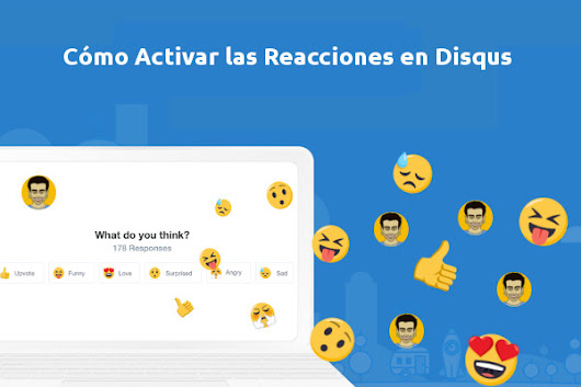Cómo activar las Reacciones en Disqus | Seo Blogging y Growth Hacking con gastre