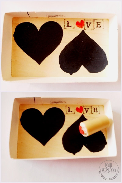 pudełko serca