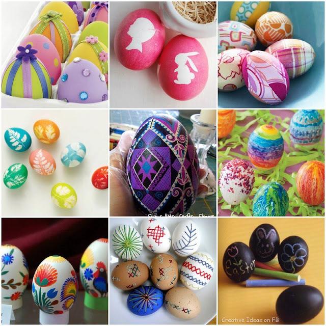 huevos decorados pascua