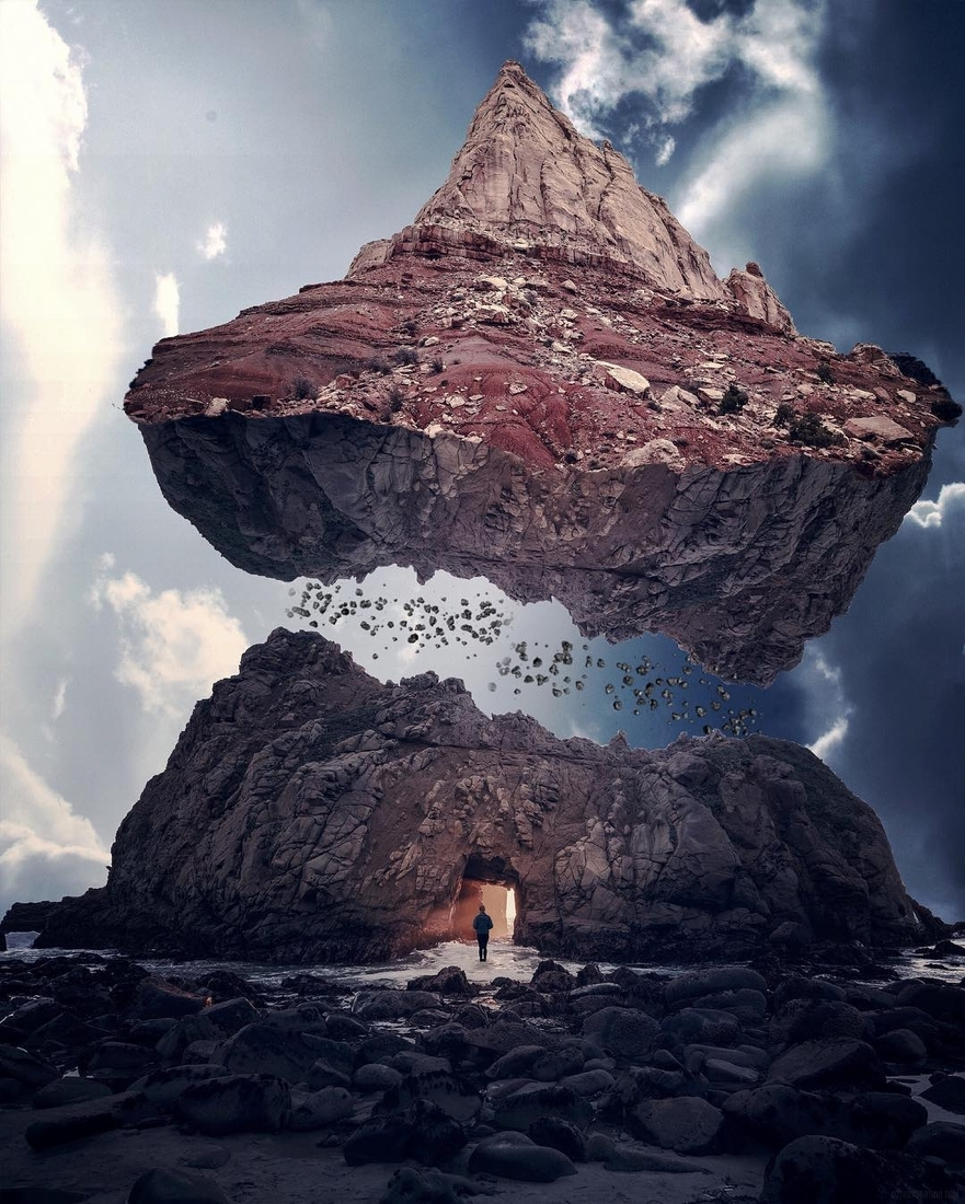 11-The-Chosen-One-Francesco-Dell-Orto-Surrealism-Achieved-with-Photo-Manipulation-www-designstack-co