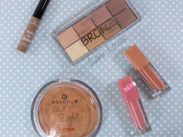 Essence Haul Swatches & Review