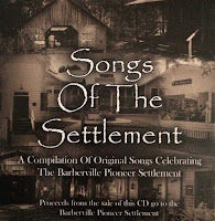 Cover of the Songs of the Settlement CD