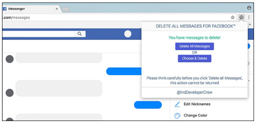 How to Delete Facebook Messages in Bulk. (Facebook Messages Select All Delete)