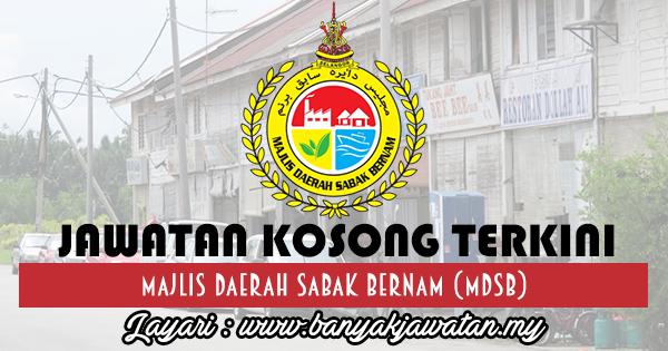 Jawatan Kosong 2017 di Majlis Daerah Sabak Bernam (MDSB) www.banyakjawatan.my