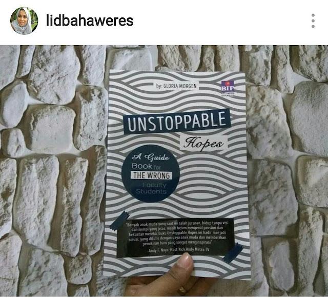 Salah Jurusan? Yuk Baca Buku Unstoppable Hopes