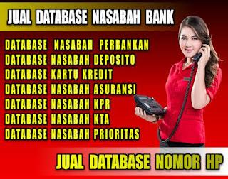 Jual database nasabah pemilik kartu kredit | Jualdatabase.org | Download database nasabah pemilik kartu kredit | 081288103307