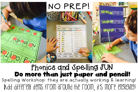 Spelling and Phonics – Interactive – QUICK PREP - FUN!