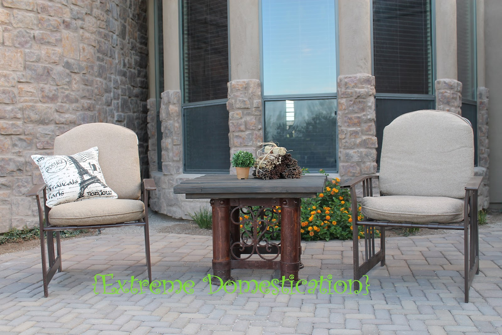 Extreme Domestication Revive Old Patio Furniture