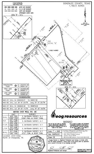 Eagle Ford Oil & Gas Lease Information DeWitt County