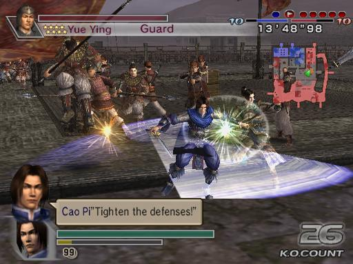 Dynasty Warriors 5 Empires PS2 GAME ISO Gameplay 1