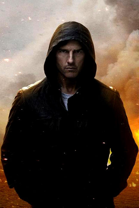 Tom Cruise în Mission Impossible 4: Ghost Protocol