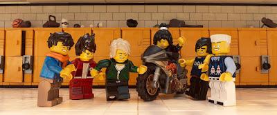 Traumas juveniles se superan en Lego Ninjago: la película