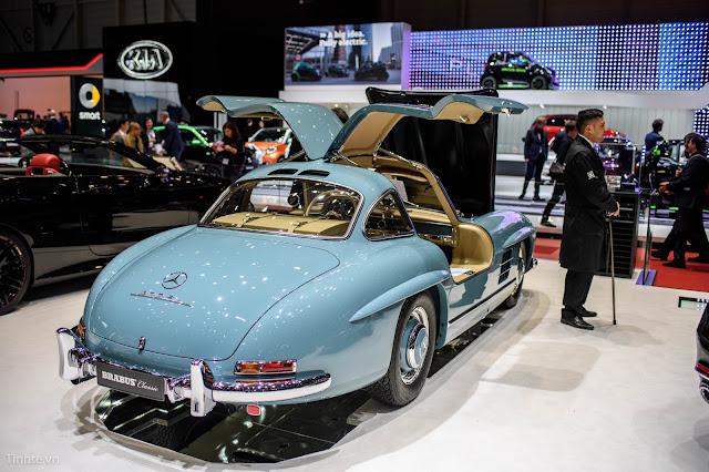 Mercedes-Benz 300 SL Gullwing - Huyền thoại đã trở lại