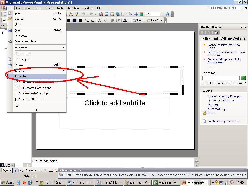 Azharwaag Cara Sederhana Menghitung Jumlah Kata Dalam Office Word Excel Powerpoint Dan