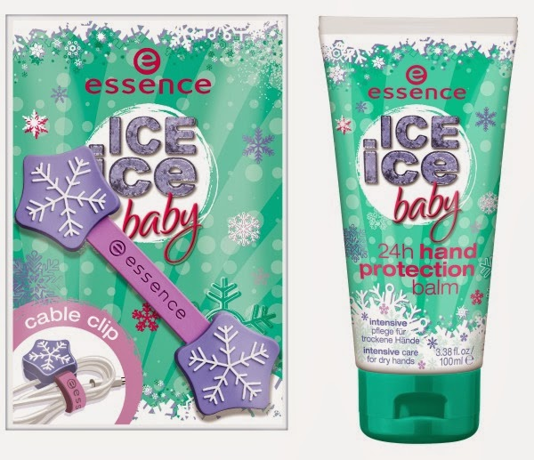essence ice ice baby cable clip & 24h hand protection balm